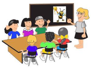 le rucher a l'école