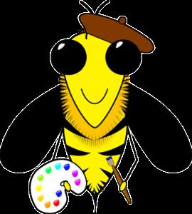 abeille-peinture
